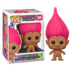 Figura POP Trolls Pink Troll - Imagen 1
