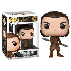 Figura POP Juego de Tronos Arya with Two Headed Spear - Imagen 1