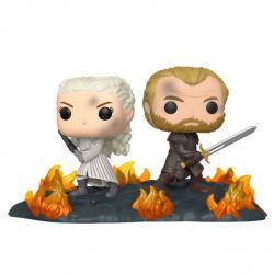 Figura POP Juego de Tronos Daenerys & Jorah B2B with Swords - Imagen 1