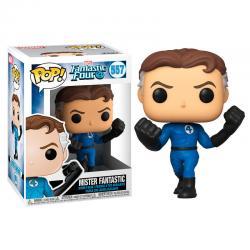 Figura POP Marvel Los 4 Fantasticos Mister Fantastic - Imagen 1