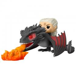 Figura POP Juego de Tronos Daenerys on Fiery Drogon - Imagen 1
