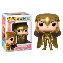 Figura POP DC Wonder Woman 1984 Wonder Woman Gold Power Pose - Imagen 1
