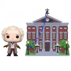 Figura POP Back To The Future Doc with Clock Tower - Imagen 1