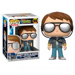 Figura POP Back To The Future Marty with Glasses - Imagen 1