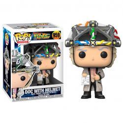 Figura POP Back To The Future Doc with Helmet - Imagen 1