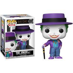 Figura POP DC Comics Batman 1989 Joker with Hat - Imagen 1