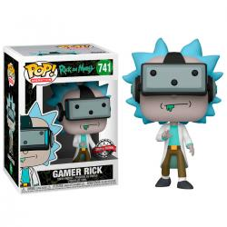 Figura POP Rick and Morty Gamer Rick Exclusive - Imagen 1