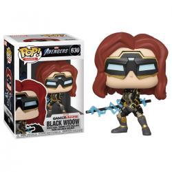 Figura POP Marvel Avengers Game Black Widow Stark Tech Suit - Imagen 1