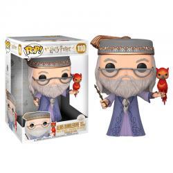 Figura POP Harry Potter Dumbledore with Fawkes 25cm - Imagen 1