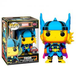 Figura POP Marvel Black Light Thor - Imagen 1