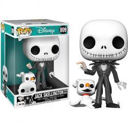 Figura POP Disney Pesadilla Antes de Navidad Jack with Zero 25cm - Imagen 1