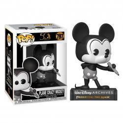 Figura POP Disney Archives Mickey Mouse Plane Crazy Mickey - Imagen 1