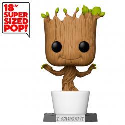 Figura POP Marvel Guardians of the Galaxy Dancing Groot 45cm - Imagen 1