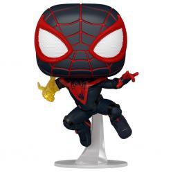 Figura POP Spiderman Miles Morales - Miles Morales Classic Suit - Imagen 1