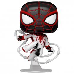 Figura POP Spiderman Miles Morales - Miles Morales Track Suit - Imagen 1