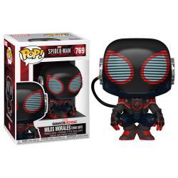 Figura POP Marvel Spiderman Miles Morales 2020 Suit - Imagen 1