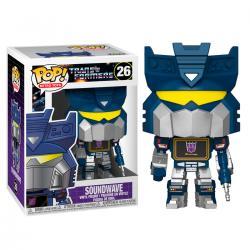 Figura POP Transformers Soundwave - Imagen 1