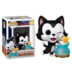 Figura POP Disney Pinocho Figaro Kissing Cleo - Imagen 1