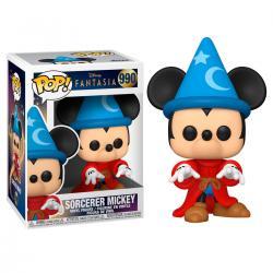 Figura POP Disney Fantasia 80th Sorcerer Mickey - Imagen 1