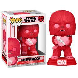 Figura POP Star Wars Valentines Cupid Chewbacca - Imagen 1