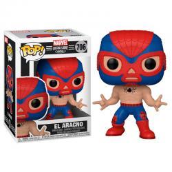 Figura POP Marvel Luchadores Spiderman El Aracno - Imagen 1