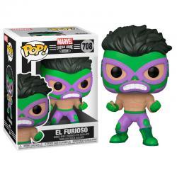 Figura POP Marvel Luchadores Hulk El Furioso - Imagen 1