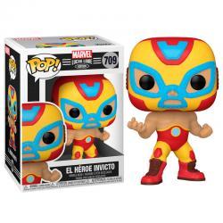 Figura POP Marvel Luchadores Iron Man El Heroe Invicto - Imagen 1