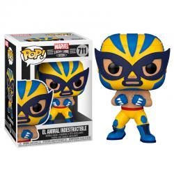 Figura POP Marvel Luchadores Wolverine El Animal Indestructible - Imagen 1