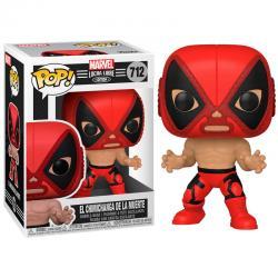 Figura POP Marvel Luchadores Deadpool La Chimiganga de la Muerte - Imagen 1