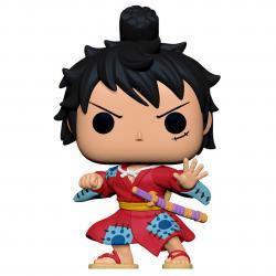Figura POP One Piece Luffy in Kimono - Imagen 1