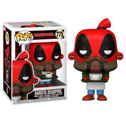 Figura POP Marvel Deadpool 30th Coffee Barista - Imagen 1