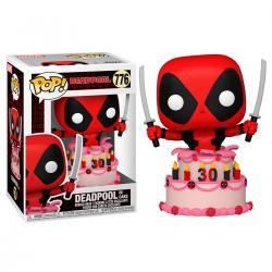 Figura POP Marvel Deadpool 30th Deadpool in Cake - Imagen 1