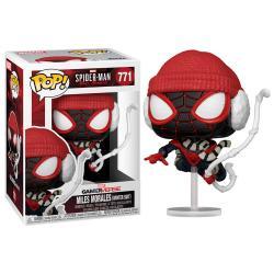 Figura POP Marvel Spiderman Miles Morales Winter Suit - Imagen 1