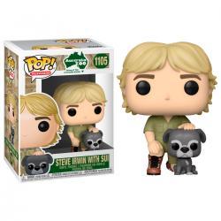 Figura POP Crocodile Hunter Steve Irwin with Sui - Imagen 1