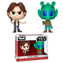 Figuras Vynl Star Wars Han Solo & Greedo - Imagen 1