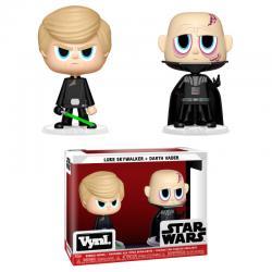 Figuras Vynl Star Wars Darth Vader & Luke Skywalker - Imagen 1