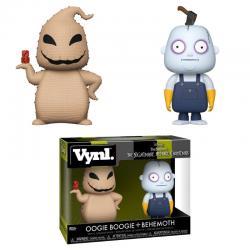 Figuras Vynl Disney Pesadilla Antes de Navidad Oogie Boogie and Behemoth - Imagen 1