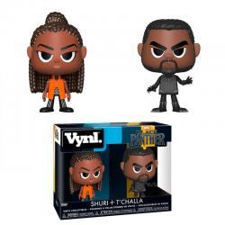 Figuras Vynl Marvel Black Panther & Shuri - Imagen 1