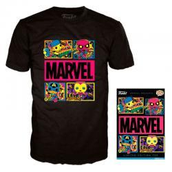 Camiseta Blacklight Marvel - Imagen 1