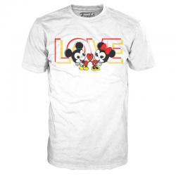 Camiseta Love Mickey and Minnie Disney - Imagen 1