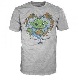 Camiseta Be Mine Yoda Star Wars - Imagen 1