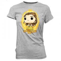 Camiseta Belle In Crest Princess Disney - Imagen 1