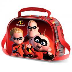 Bolsa portameriendas 3D Los Increibles Disney - Imagen 1