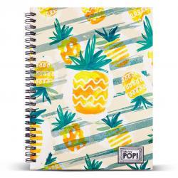 Cuaderno A5 Ananas Oh My Pop - Imagen 1