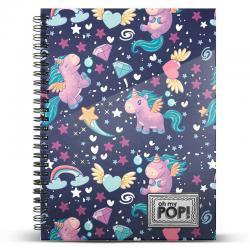 Cuaderno A4 Oh My Pop Magic - Imagen 1