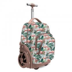 Trolley Oh My Pop Tropical Flamingo 53cm - Imagen 1
