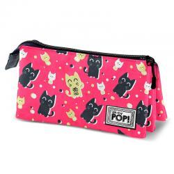 Portatodo Oh My Pop Cats triple - Imagen 1