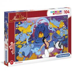 Puzzle Aladdin Disney 104pzs - Imagen 1