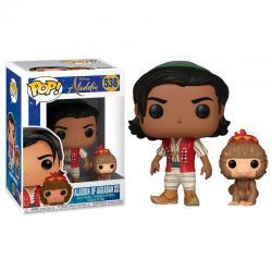 Figura POP Disney Aladdin Aladdin with Abu - Imagen 1