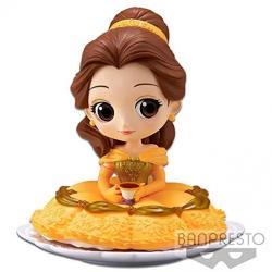 Figura Bella La Bella y la Bestia Disney Q Posket A 14cm - Imagen 1